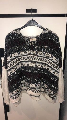 Pullover (Poncho mit Ärmeln)