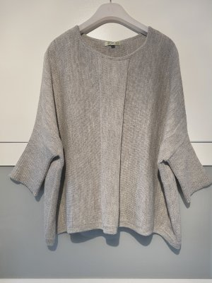 """Pullover Poncho-Stil Pullover aus 100% """"""""Babyalpacawolle"""""""""""