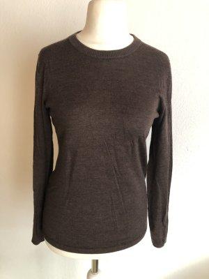 Cecilia Classics Crewneck Sweater brown-dark brown