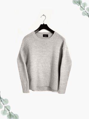 Pullover Pulli Creme dick warm weich Strick Knit wear Oversize Winter | zara | s