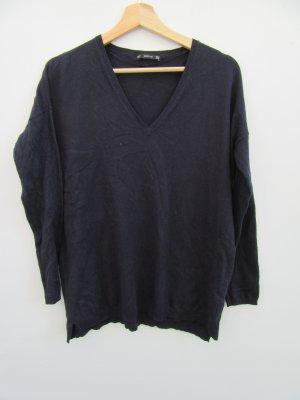 Pullover Pulli Damen Zara blau Gr. M