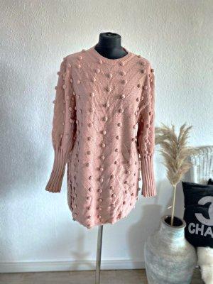 Sweater Dress dusky pink