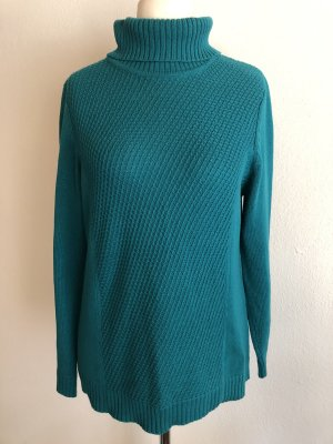 Collection L Turtleneck Sweater petrol-forest green