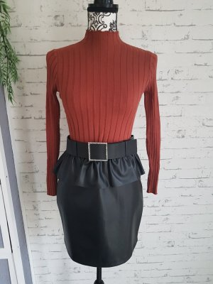 Pullover Pulli Oberteil Gr.36 rostfarben