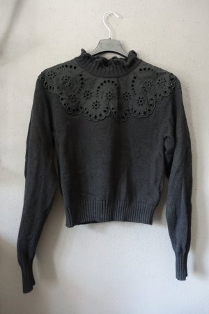 Pullover, Pulli, &other stories, Lochstrick, Broderie Anglaise, Spitze, Gr. XS