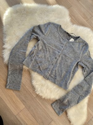 Pullover Pulli Pullunder Gr. L neu grau Zara