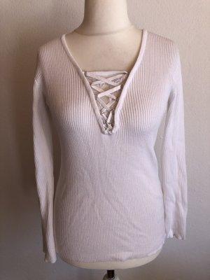 Colloseum Maglione lavorato a maglia bianco