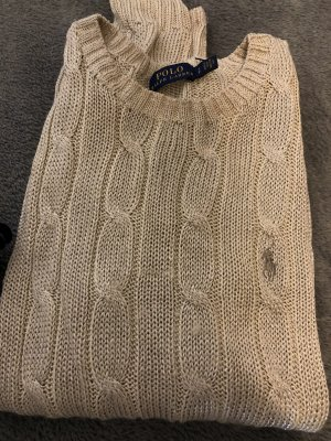Polo Ralph Lauren Cable Sweater gold-colored