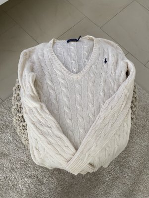 Polo Ralph Lauren Cable Sweater natural white