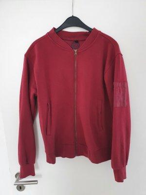 by EMP Sweat Jacket dark red