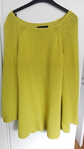 Reserved Coarse Knitted Sweater grass green