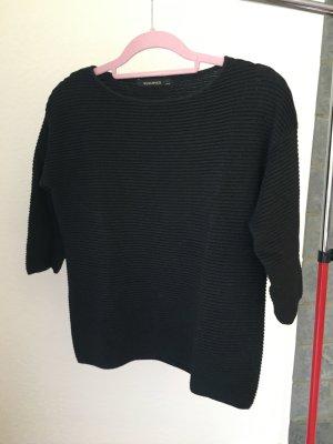 Pullover Reserved M glänzend schwarz