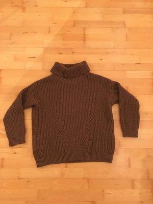 Hallhuber Wool Sweater brown