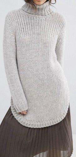 Pullover Rollkragen strickpullover grau blogger Winter Look