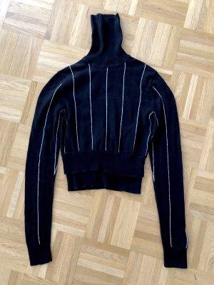 Pullover, Rollkragenpullover Michael Kors, XS, schwarz weiß
