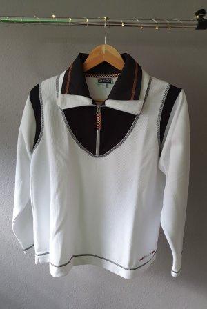 Chicc Fleece Jumper black-white