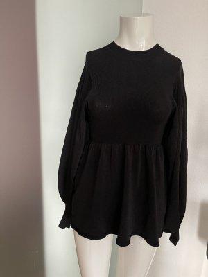 H&M Pull kimono noir
