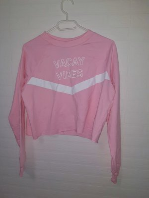 Sinsay Sports Shirt white-light pink