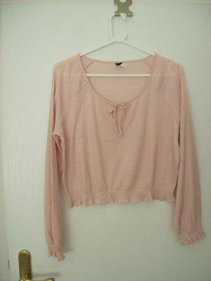 H&M Divided Crewneck Sweater pink
