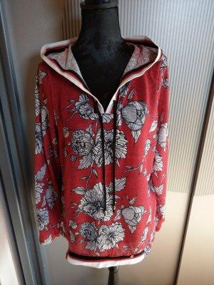 Pullover rot Blumen Tredy