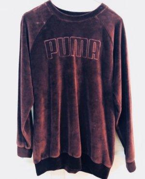 Pullover rot Puma S 36 Samt