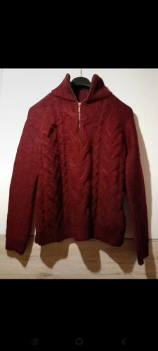 pullover rot weinrot