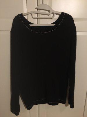Pullover Rundhalsuasschnitt