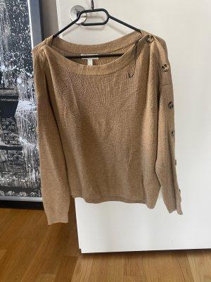 Pullover S beige nude Braun