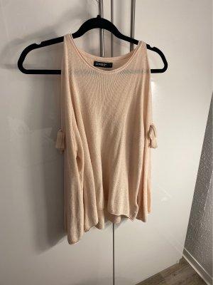 Pullover Schulterfrei Schleifen