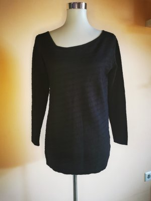 delicatelove Long Sweater black mixture fibre