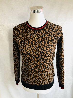 Pullover schwarz / braun