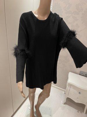 Miss Fashion Crewneck Sweater black