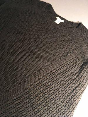 Pullover Schwarz-Grau