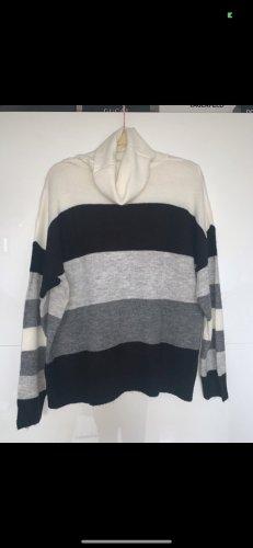 Pullover schwarz weiß