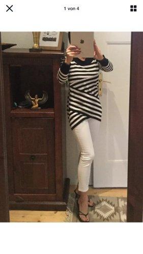 ecorepublic Jersey largo blanco-negro