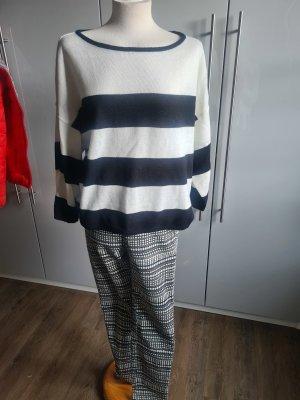 Pullover schwarz/weiß letzte Preissenkung