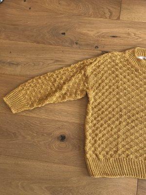 Pullover senfgelb Größe M