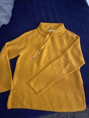 Bonita Pullover all'uncinetto arancione chiaro-giallo-oro