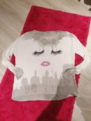 Pullover Shirt dünn made in Italy oversize