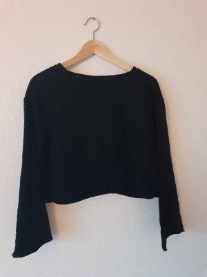 H&M Jersey kimono negro