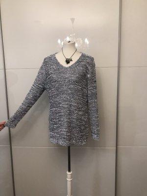 Pullover Silber Glitzer