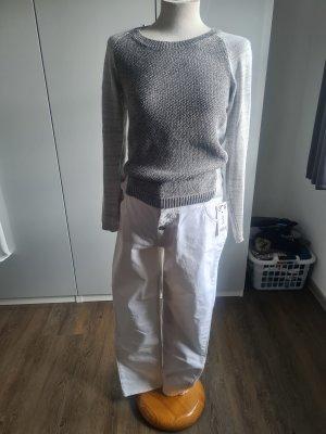 Pullover silber/grau