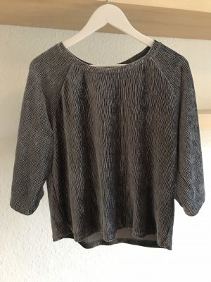 Pullover silber-grau