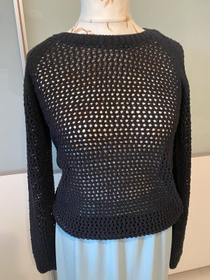 Crew United Coarse Knitted Sweater black