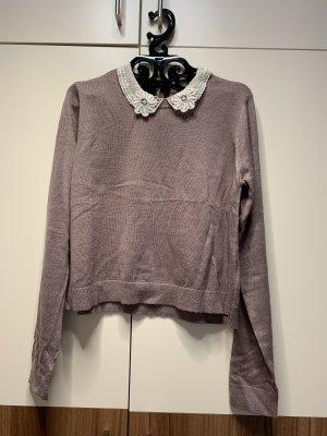 Pullover Spitzenkragen H&M