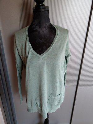 Pullover Strickpullover grün Promod