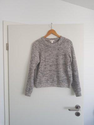 Pullover Strickpullover in schwarz weiß Gr. S von H&M