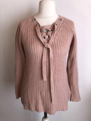 Colloseum Maglione lavorato a maglia rosa pallido-rosa antico