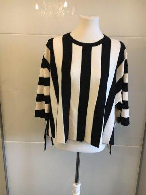 Sweewe Kimono Sweater white-black