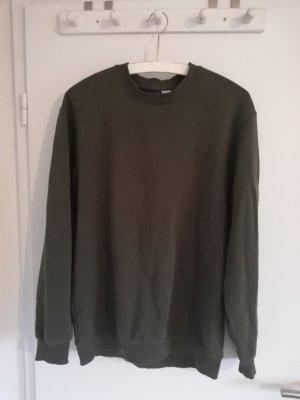 Pullover Sweater Hoodie H&M khaki oliv khaki S 36 unisex
